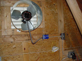 Attic Ventilator Fans and Motor Replacements