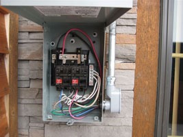 110 and 220 Volt Circuits and Specialty Outlets