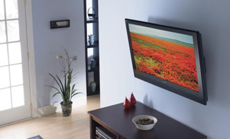 Flat Panel TV Mounting and Outlets